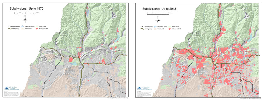 Maps Courtesy: Robby Overfield, La Plata County GIS, 2013