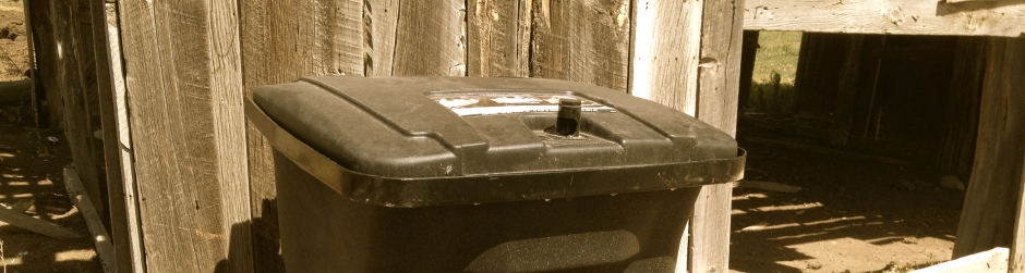 Bear-Resistant Trash Containers