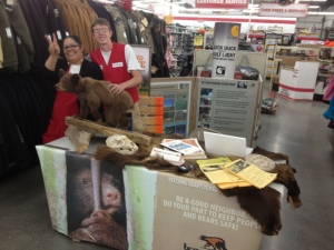 Tractor and Supply Bear Smart Table