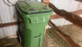 Bear-Resistant Chicken & Livestock Feed Containers!